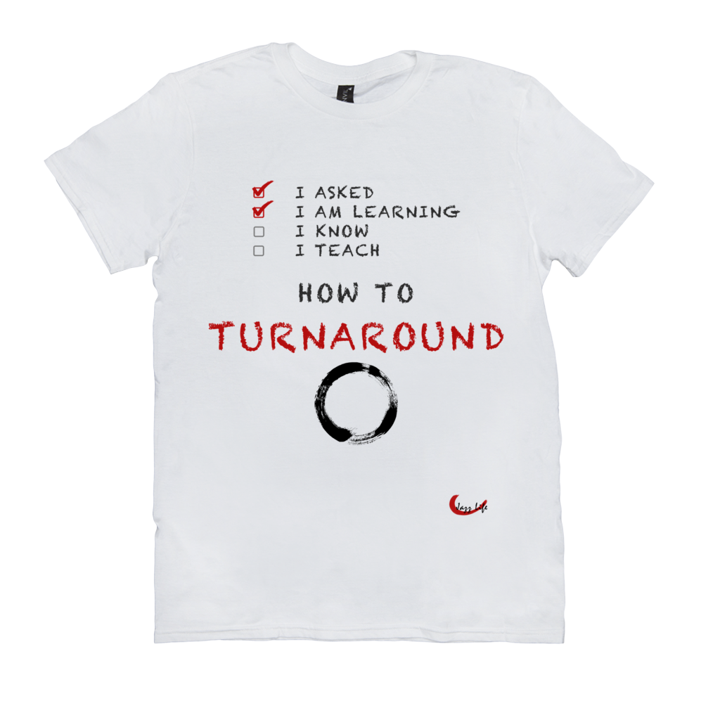 Fun Jazz Turnaround T-Shirt (Intermediate) Version 2 Front & Back