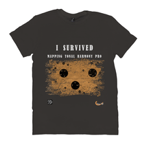 Load image into Gallery viewer, I Survived Mapping Tonal Harmony T-Shirts Version 2
