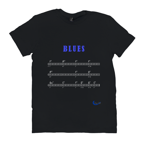 The Blues Form T-Shirts