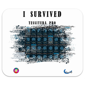 I Survive Tessitura Pro Mousepad White