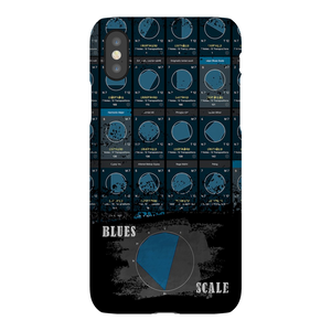 Blues Scale Phone Case