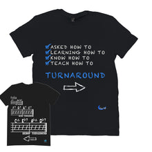 Load image into Gallery viewer, Fun Jazz Turnaround T-Shirt (Master) B Front & Back