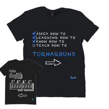 Load image into Gallery viewer, Fun Jazz Turnaround T-Shirt (Advanced) B Front & Back