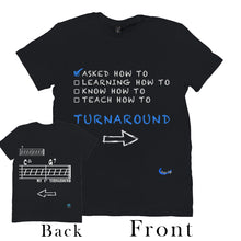 Load image into Gallery viewer, Fun Jazz Turnaround T-Shirt (Beginner) B Front & Back