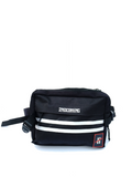 Two Stripe Cross-body Bag (Black)
