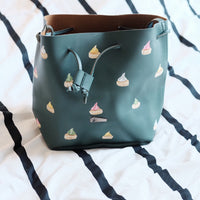 Gem Biscuit Bucket Bag