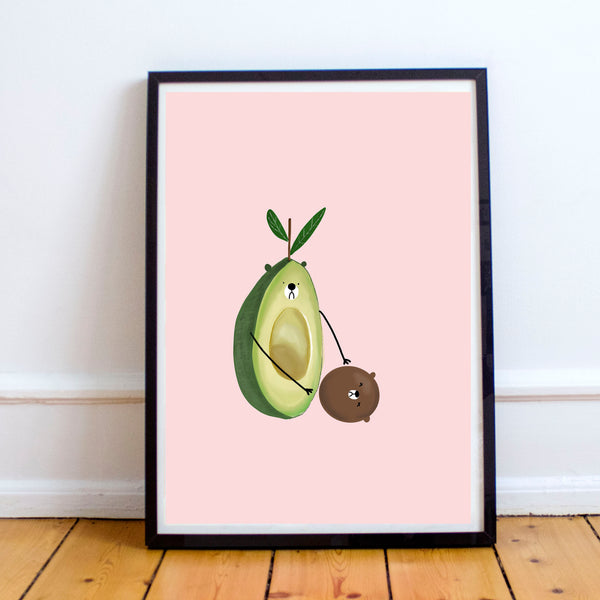 Sad Avocado Print