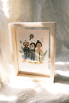 Pre Order- Custom portrait with frame