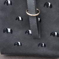 Tapir Zipper Box Bag