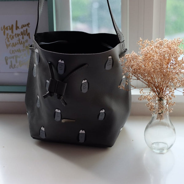 Penguin Bucket Bag