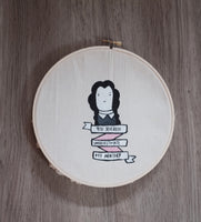 Wednesday Addams Hoop Portrait