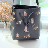 Sheltie Bucket Bag
