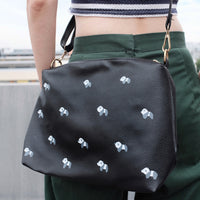 Panda Zipper Clutch