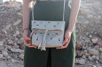 Mini Cactus Zipper Flap Bag