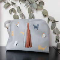 Cats grey box bag