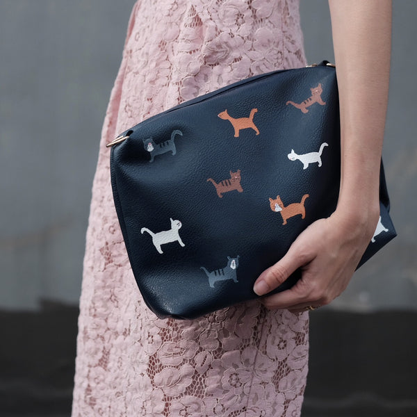 Cat Clutch sling bag