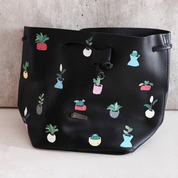 Cactus Bucket Bag