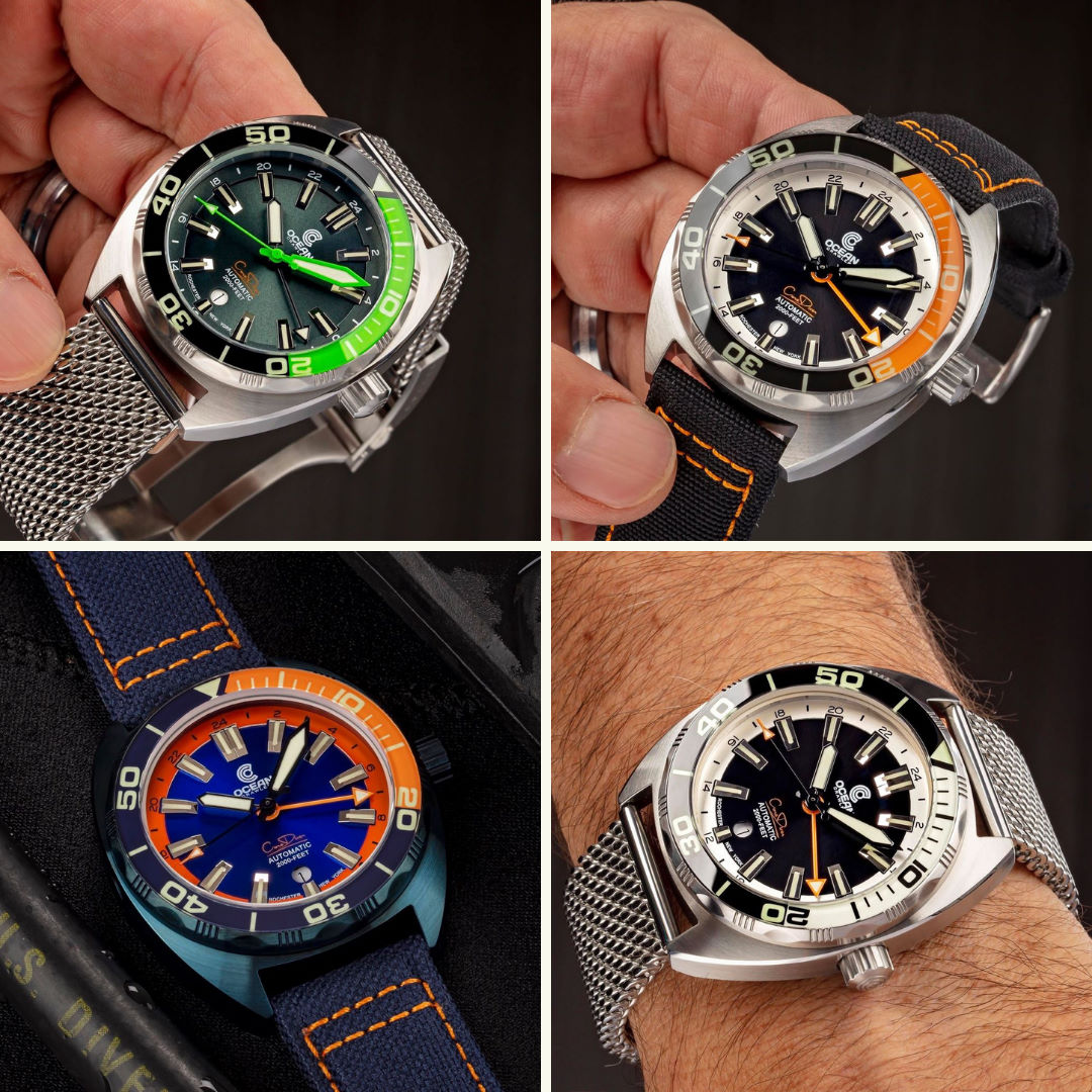 Ocean Crawler GMT Watches