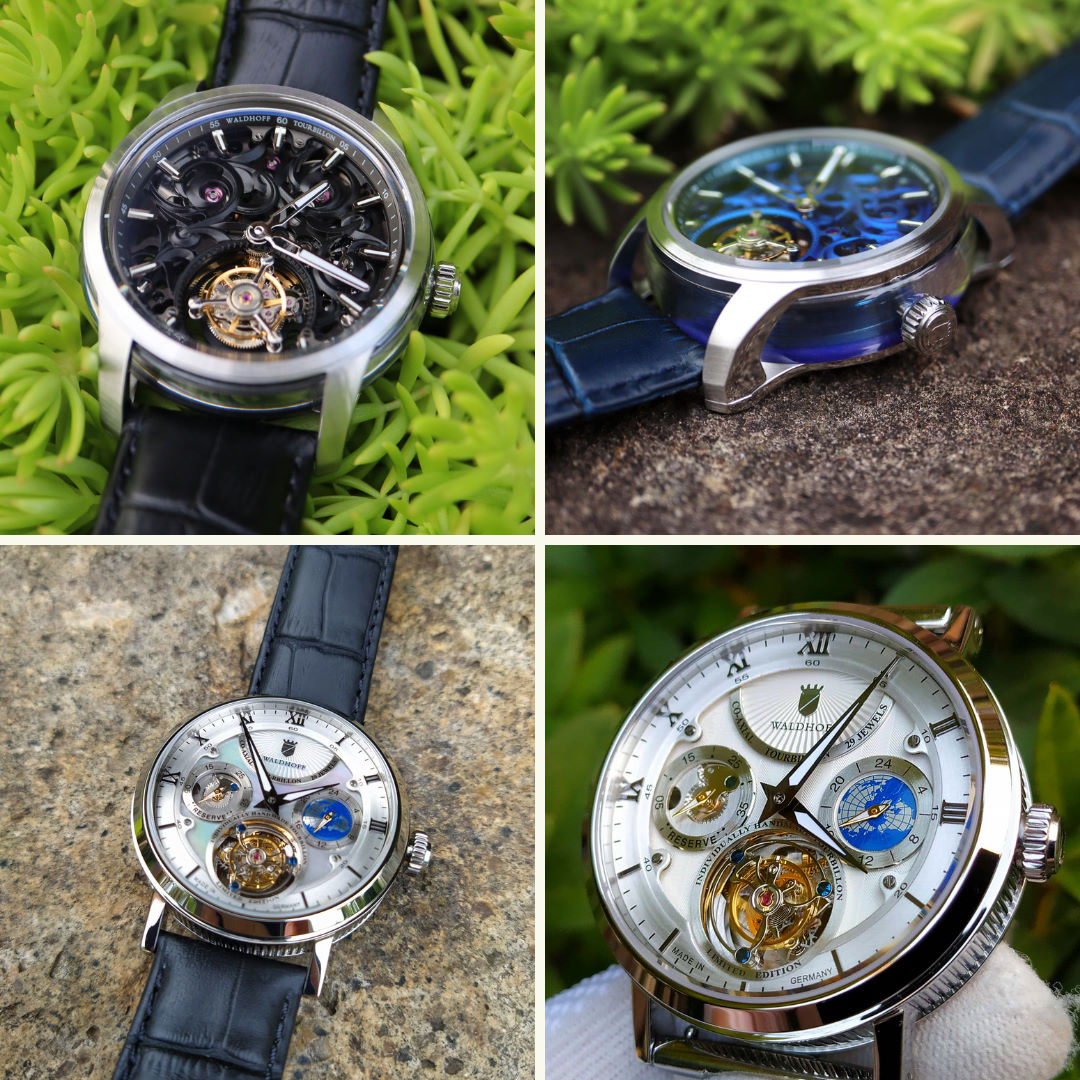 Waldhoff tourbillon watches