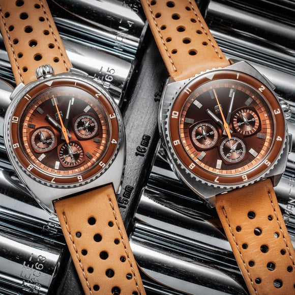 Straton Legera Bullhead - VK67 Mecha-Quartz (Brown)