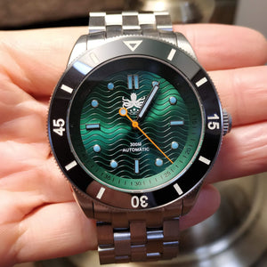 Phoibos Wave Master - Green (No Date)