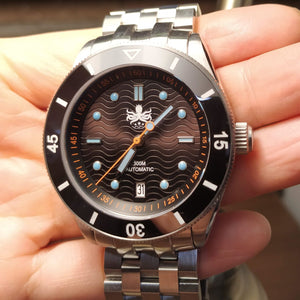 Phoibos Wave Master - Black (With Date)
