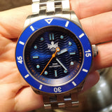 Phoibos Wave Master - Blue (No Date)