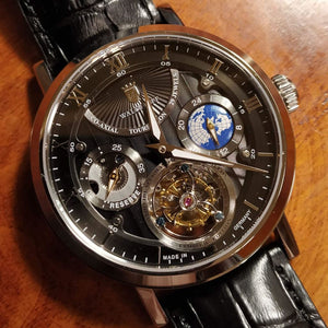 Waldhoff Ultramatic - Obsidian Black Limited Edition (with Tourbillon)