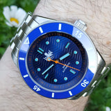 Phoibos Wave Master - Blue (With Date)
