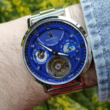 Waldhoff Ultramatic - Royal Blue Limited Edition (with Tourbillon)