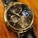 Waldhoff Ultramatic - Imperial Black Limited Edition (with Tourbillon)