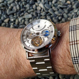 Waldhoff Ultramatic - Diamond Silver LE (with Tourbillon)