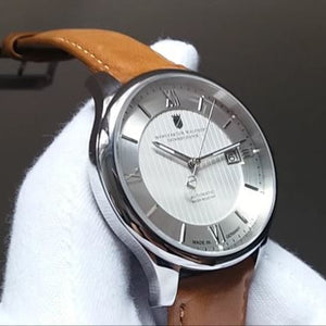 Waldhoff Renaissance - Diamond Silver (with extra straps)