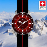 Direnzo DRZ03 Eclipse (Burgundy Red) - Swiss Made LE