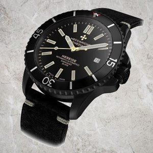 Meccaniche Veneziane Nereide Ardesia PVD (Swiss Made - Swiss Movement)