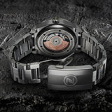 Zelos Thresher 500m GMT - Grey Meteorite (Swiss ETA 2893)
