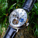 Waldhoff Ultramatic - Diamond Silver Mother-of-Pearl