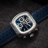 Straton Speciale - VK67 Mecha-Quartz (Blue, Polished Case)