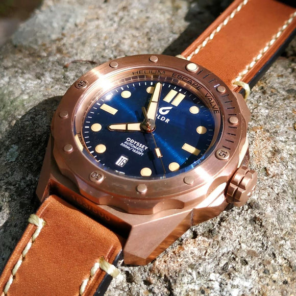 BOLDR Odyssey Bronze Blue Limited Edition - 500m CuSn8 Bronze