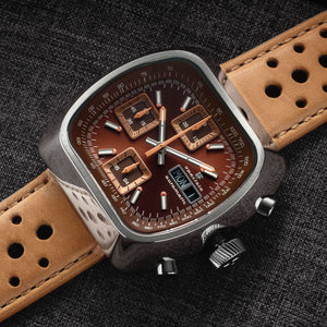 Straton Speciale - Swiss Valjoux 7750 (Brown, Polished Case)
