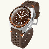 Straton Tourer GMT (Rust Brown) - Swiss Mvmt