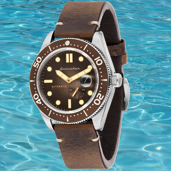 Spinnaker Croft SP-5058-02 (Brown Fumé Dial)