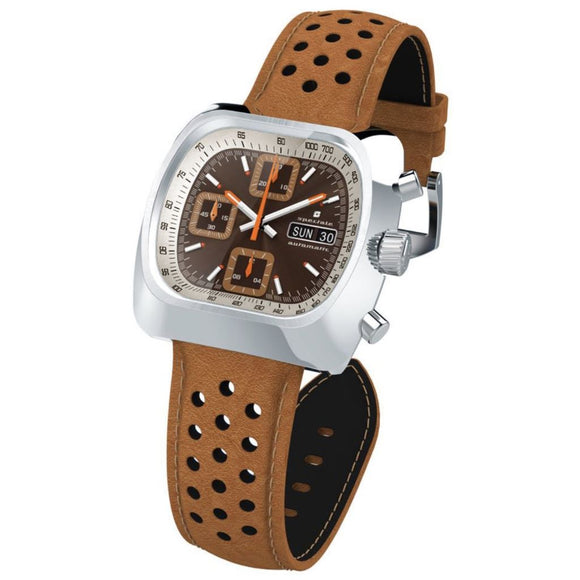 Straton Speciale LE - Swiss Valjoux 7750 (Brown w/ White Tachymeter)
