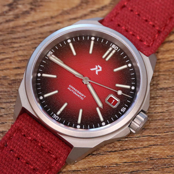 RZE Resolute Crimson Red - Titanium 100m Limited Edition
