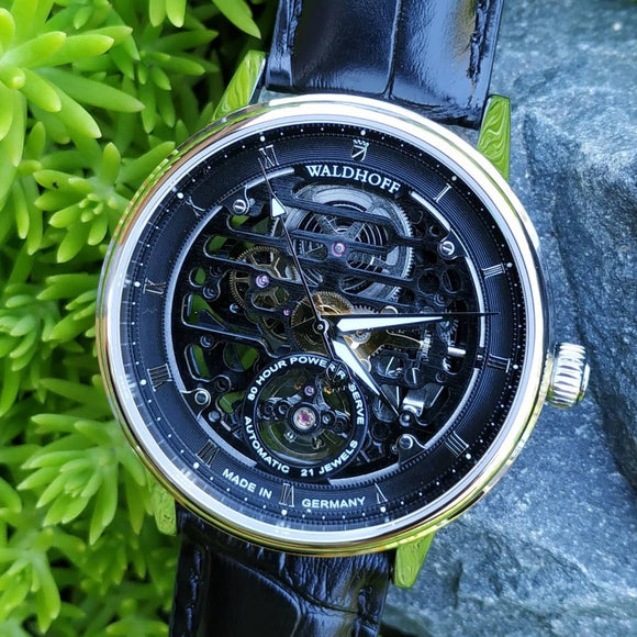 Waldhoff Capital - Obsidian Black (80 Hour Power Reserve)