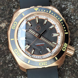 Zelos Hammerhead 2 1000M Bronze Forged Carbon Limited Ed.