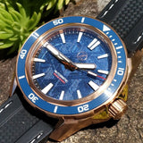 Zelos Swordfish Bronze Blue Meteorite (Limited Edition)