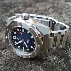 BOLDR Odyssey Metal Blue (Swiss Movement)