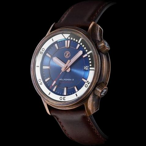 Zelos Helmsman 2 Bronze Blue (Limited Edition)