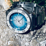 Iconic Halocline (Vibrant Blue) Limited Edition - Swiss Mvmt